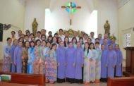 Hình ảnh ngày mừng lễ Bổn Mạng của Cựu học viên Khánh lễ viện