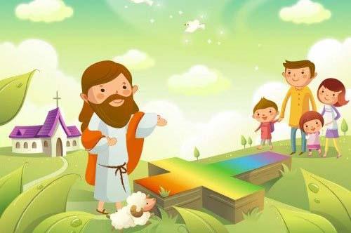Giáo lý cho thiếu niên: Giáo Hội thánh thiện