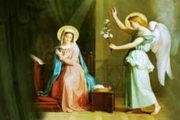 Phụng Vụ Kinh Chiều 1: Lễ truyền tin