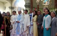 Hai Salêdiêng Việt Nam đang truyền giáo tại Peru được phong chức linh mục