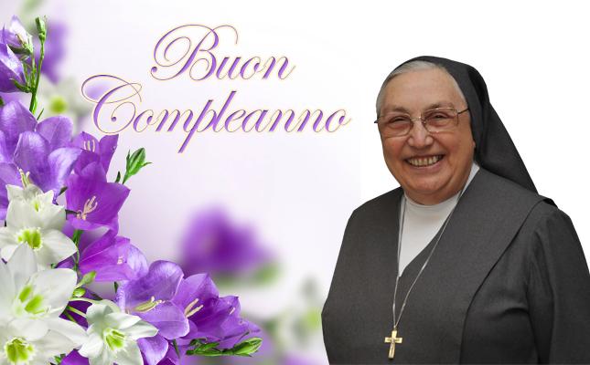 Chúc mừng sinh nhật Mẹ Bề trên Tổng quyền Yvonne Reungoat!