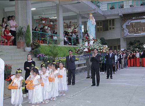Don Bosco Đà Lạt mừng lễ Mẹ Phù Hộ