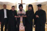 ĐTC tặng thánh tích Thánh Phêrô cho Đức Thượng phụ Bartholomeo