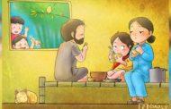 Để trẻ nhỏ đến với Thầy nhờ Giáo lý minh họa