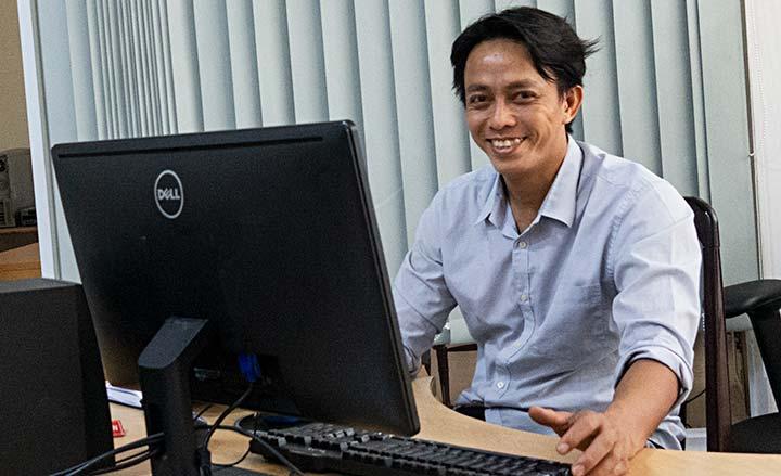 Thay đổi nhân sự mới, phụ trách website của miền EAO : Sư huynh Gioan Baot. Phạm Hồng Phước, SDB