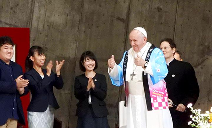 Dư âm chuyến thăm viếng Nhật bản của Đức Thánh Cha Phanxicô : Vị Giáo hoàng của lòng Thương xót, của niềm vui và sự bình an