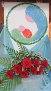 Hoa thiêng Me dang minh