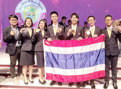 Học sinh các trường Salêdiêng tại Thái lan đoạt nhiều huy chương trong cuộc thi khoa học Opympia quốc tế, tổ chức tại Qatar