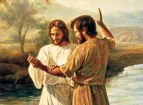 Khai mở sứ vụ Chúa Giêsu chịu phép rửa