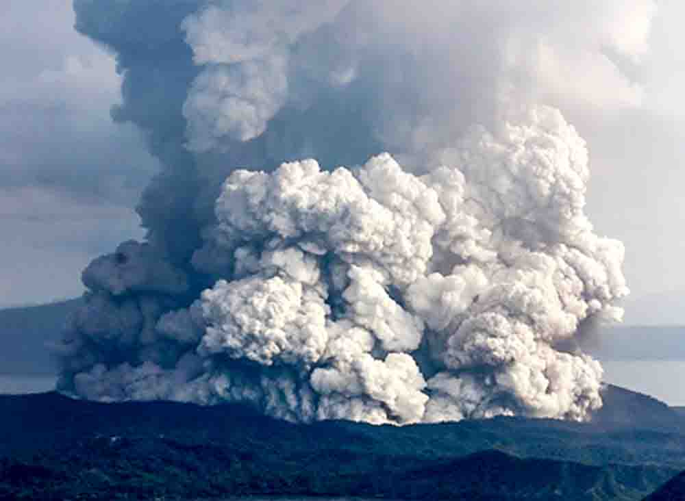 Thảm hoạ núi lửa ở hồ Taal, Philippines – Xin cầu nguyện cho chúng tôi