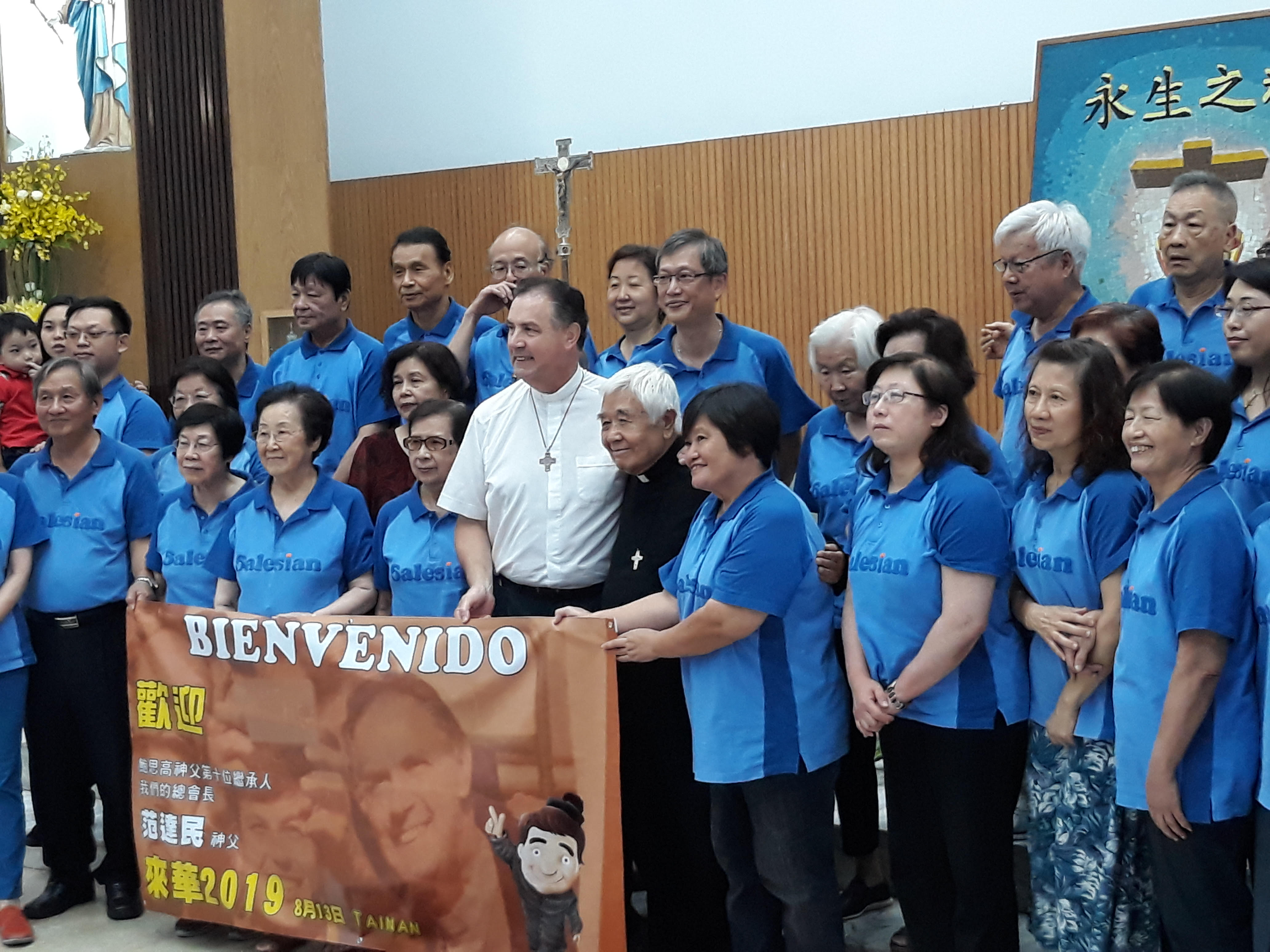 Phỏng vấn Đức Cha Joseph Ti-Kang, Tổng Giám Mục hưu trí của giáo phận Đài bắc, cũng là một Cộng tác viên Salêdiêng