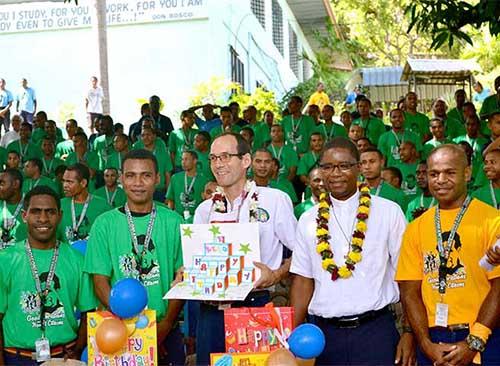 Trường Kỹ thuật DonBosco Gabutu ở Moresby, Papua New Guinea tổ chức 'Ngày cộng thể' và cũng là 'Ngày truyền giáo'