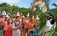 Vui sống cùng thiên nhiên - Học sinh bán trú FMA Phan Rang