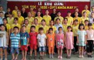 Lễ khai giảng tại trung tâm giáo dục nghề nghiệp tư thục Tấn Tài