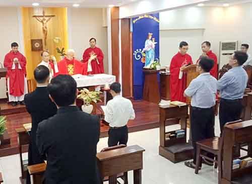 Ứng sinh ơn gọi CDB (Chí nguyện Don Bosco nam) tại Việt nam