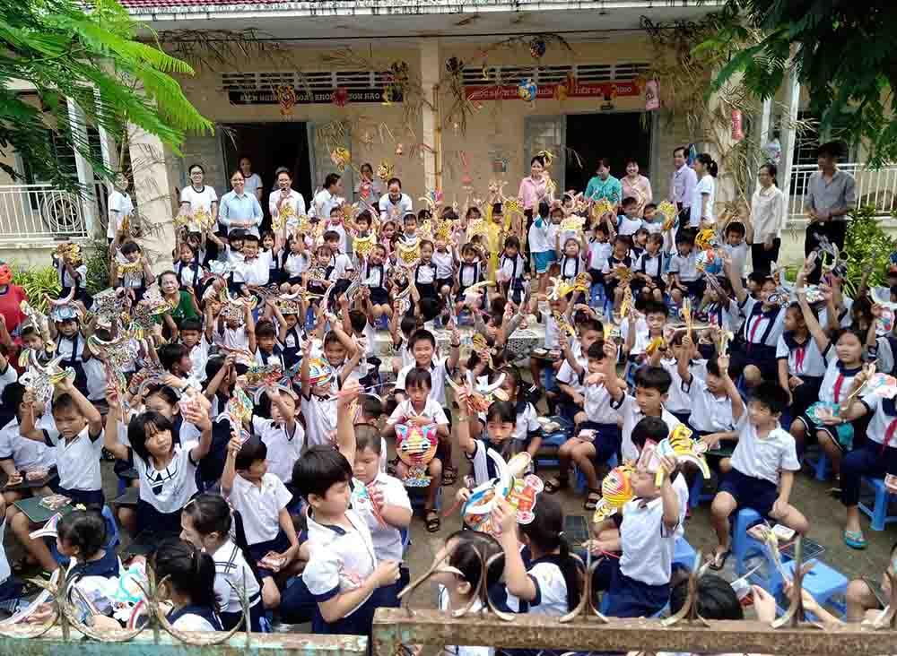 Tết Trung thu tại trường Tiểu học An Bình -  FMA Assunta