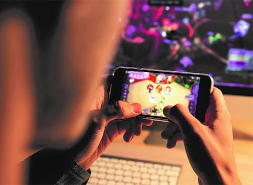Những người trẻ và trò chơi điện tử