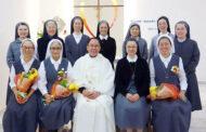 Các nữ tu dòng Bác ái Chúa Giêsu được gửi đi truyền giáo Ad Gentes