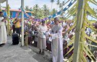 Làm phép các phòng học mới tại cứ điểm truyền giáo Araimiri, đảo quốc Papua New Guinea