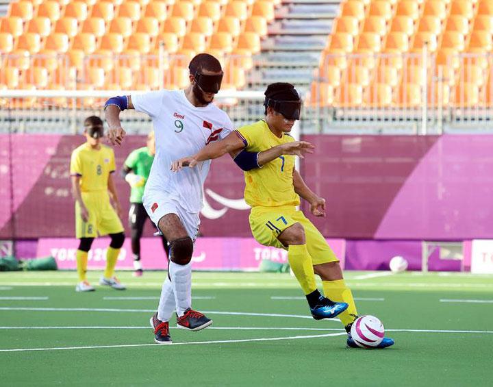 Các học viên khiếm thị của các anh em SDB tại Thái Lan tham dự hội thao quốc tế dành cho người khuyết tật tại Tokyo