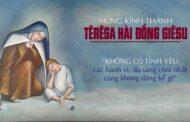 Suy niệm lễ thánh Têrêsa Hài Đồng: Têrêsa - Mẫu gương thánh thiện của các bạn trẻ