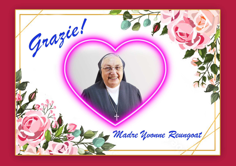 Tri ân Mẹ Yvonne Reungoat – Nguyên Bề Trên Tổng Quyền của Hội dòng Con Đức Mẹ Phù Hộ