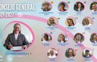Mẹ Bề Trên Tổng Quyền và Ban Tổng Cố Vấn của Hội dòng Con Đức Mẹ Phù Hộ nhiệm kỳ 2021 - 2027