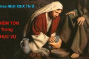 Suy niệm Lời Chúa CN XXIX TN B: Khiêm tốn trong phục vụ